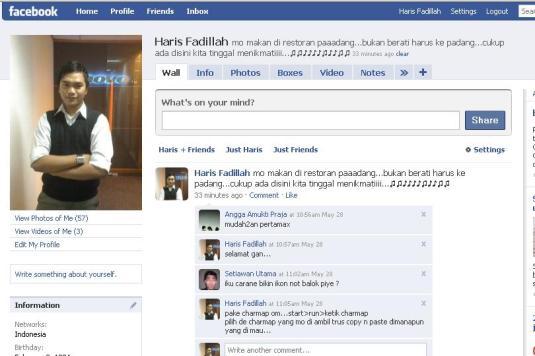 simbol facebook